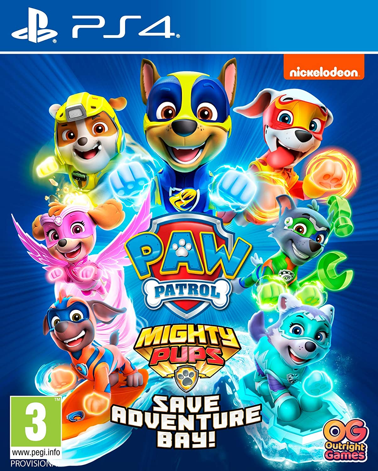 Paw Patrol Mighty Pups Save Adventure Bay Xbox One Amazon Co Uk Pc Video Games