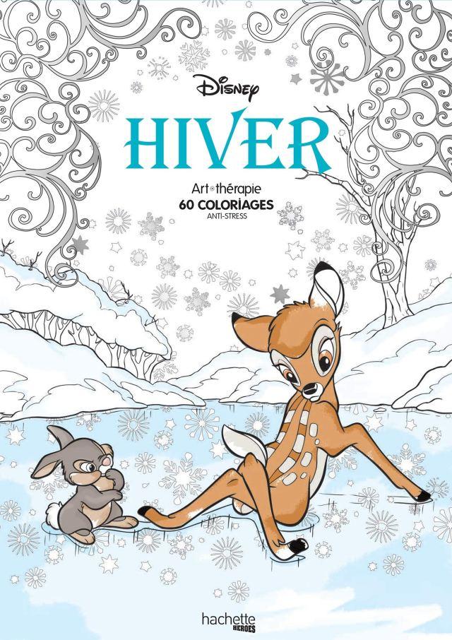 Coloriages et activites pour les enfants: Coloriages Disney Hiver