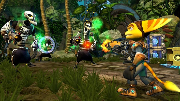 Ratchet and Clank Robot pirates
