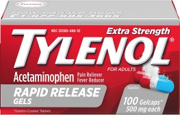 Amazon.com: Tylenol Extra Strength Rapid Release Gels with ...