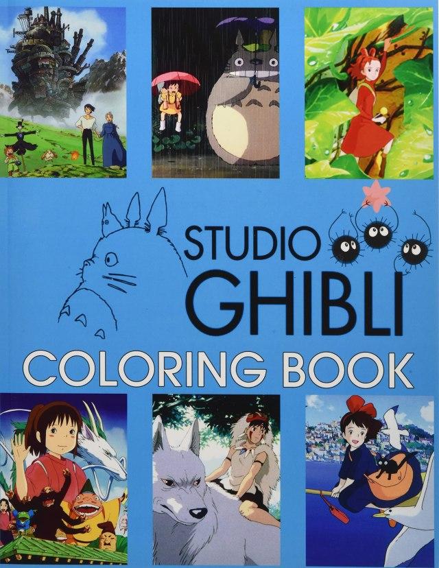 Ghibli Studio Coloring Book: Art of Ghibli Studio Collection