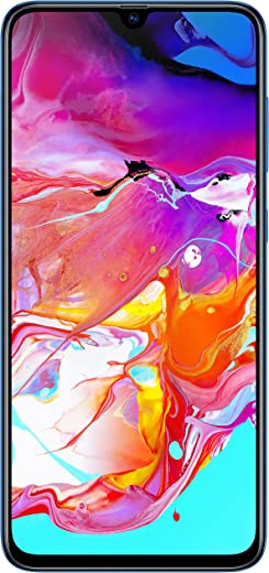 Samsung Galaxy A70 (Blue, 6GB RAM, 128GB Storage)