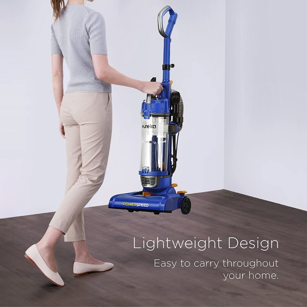 Eureka NEU182A PowerSpeed Lightweight Bagless Upright Vacuum Cleaner review