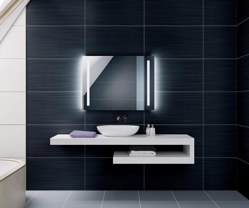 miroir lumineux pour salle de bain