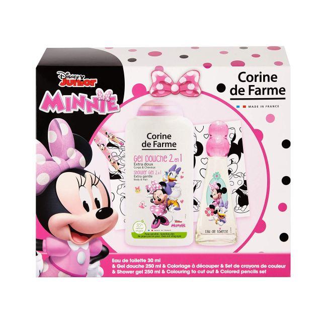 Corine de Farme Disney Minnie Mouse Eau de Toilette + Shower Gel +