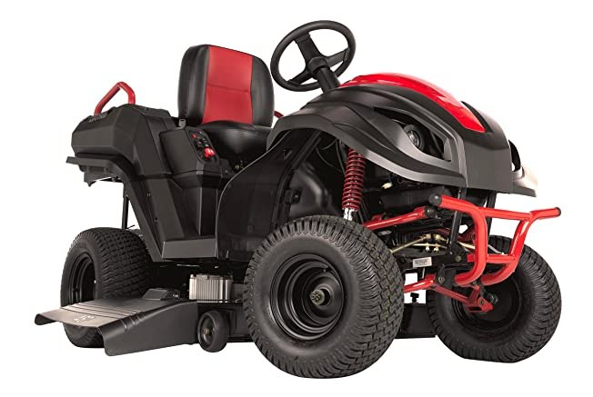 Raven MPV7100 Hybrid Riding Lawnmower Power Generator and Utility Vehicle, Red/Blac