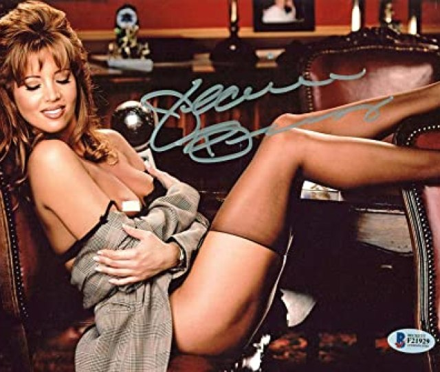 Amazon Com Signed Jeanie Buss Picture Lakers Playboy Sexy X