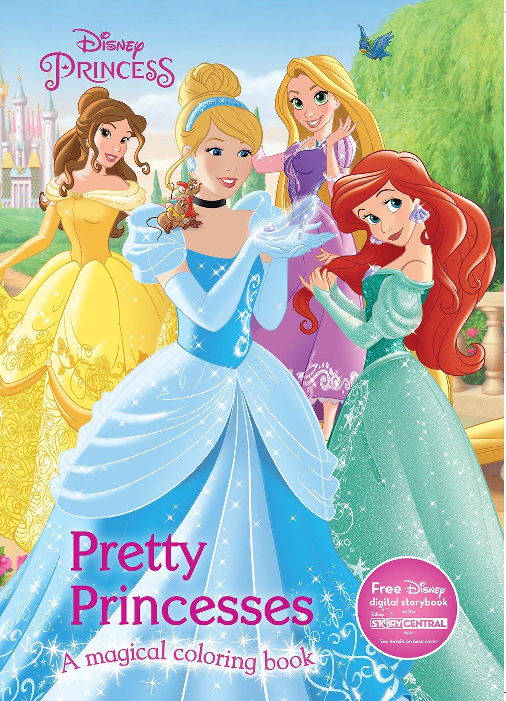 Pretty Princesses Coloring Book Disney Princess Color Fun Parragon Books Ltd 9781474821131 Amazon Com Books