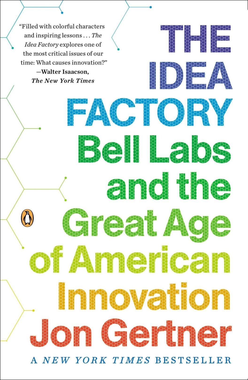 Resultado de imagen para La fábrica de ideas de Jon Gertner