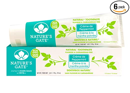Nature's Gate Peppermint Toothpaste