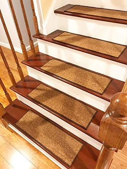 Stair Treads Carpet Non Slip – Stair Runners For Wooden Steps Non | Dog Slipping On Wood Stairs | Steps | Hardwood Floors | Self Adhering | Hardwood | Puppy Treads