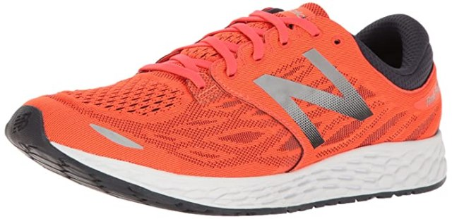 New Balance Men's Fresh Foam Zante V3 Running Shoe, Alpha Orange/Outer Space, 8.5 D US
