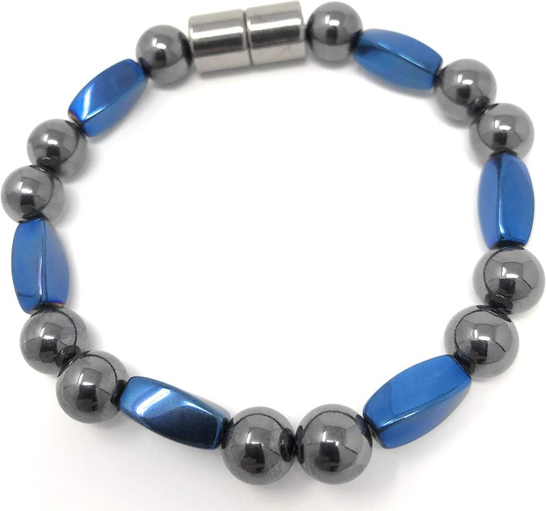 Magnetic Hematite Bracelet for Natural Pain Relief and Weight Loss