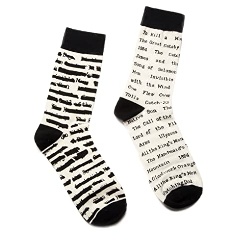Banned book titles socks