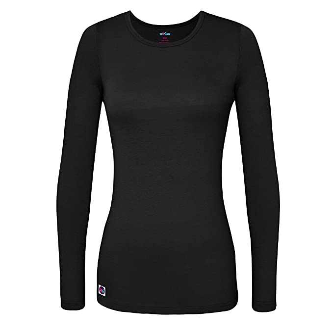 camiseta manga larga color negro para mujereshttps://amzn.to/2QfH9DZ