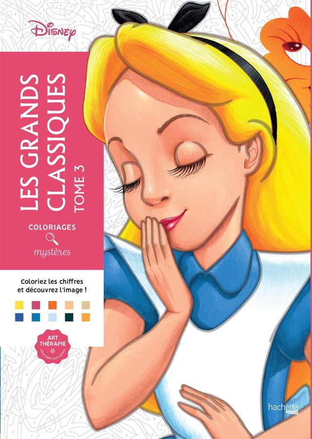 Coloriages mystères Les grands classiques Disney tome 18 : Jérémy