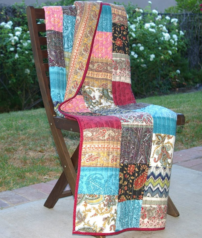 Patchwork throws for sofas energywarden patchwork sofa throws memsaheb net parisarafo Image collections