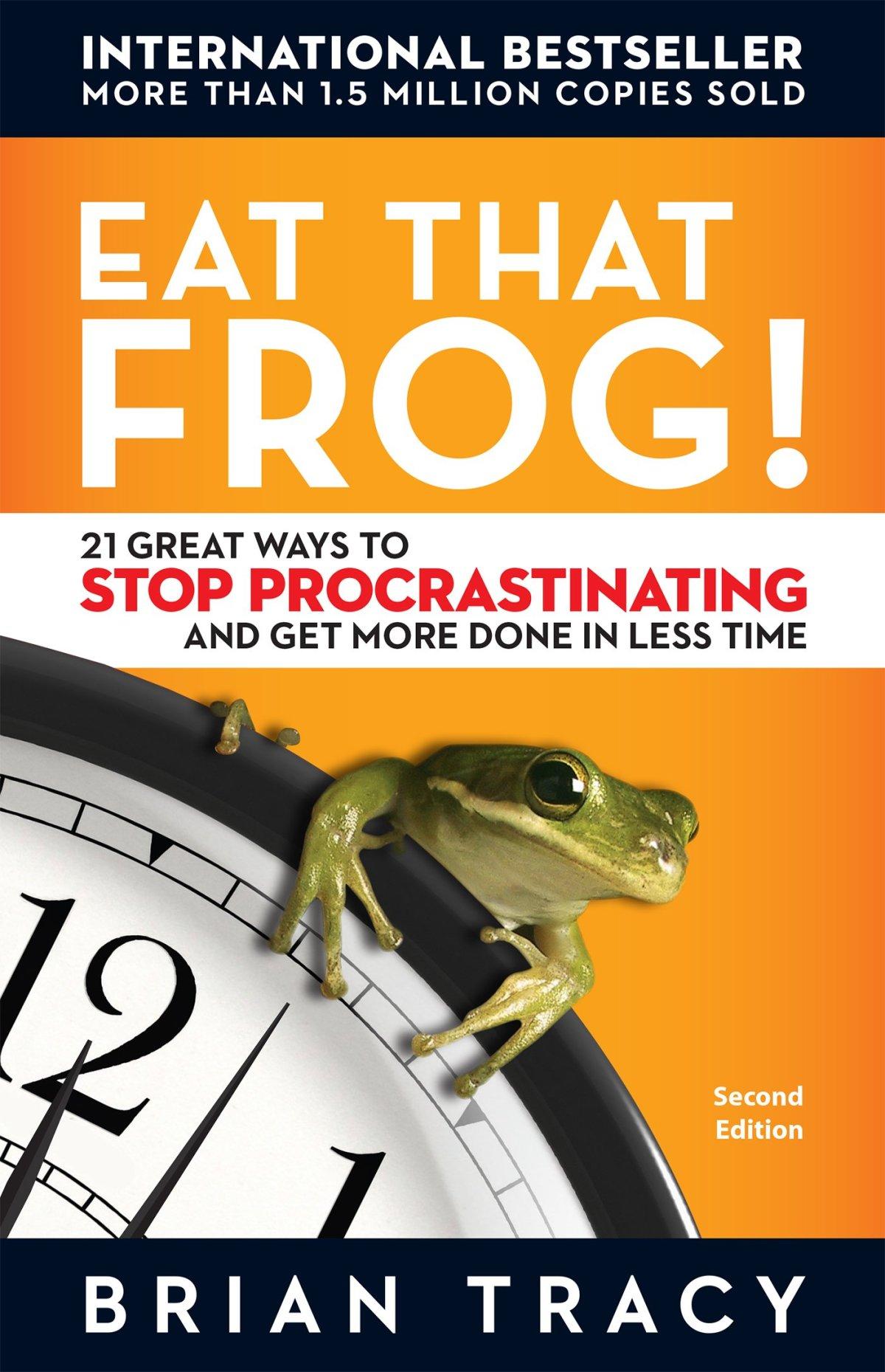 Eat That Frog: TOP 5 Livros sobre Produtividade || investments4life