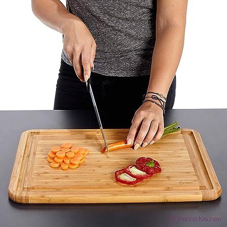 Pratico-Kitchen-Bamboo-Cutting-Board-Reviews