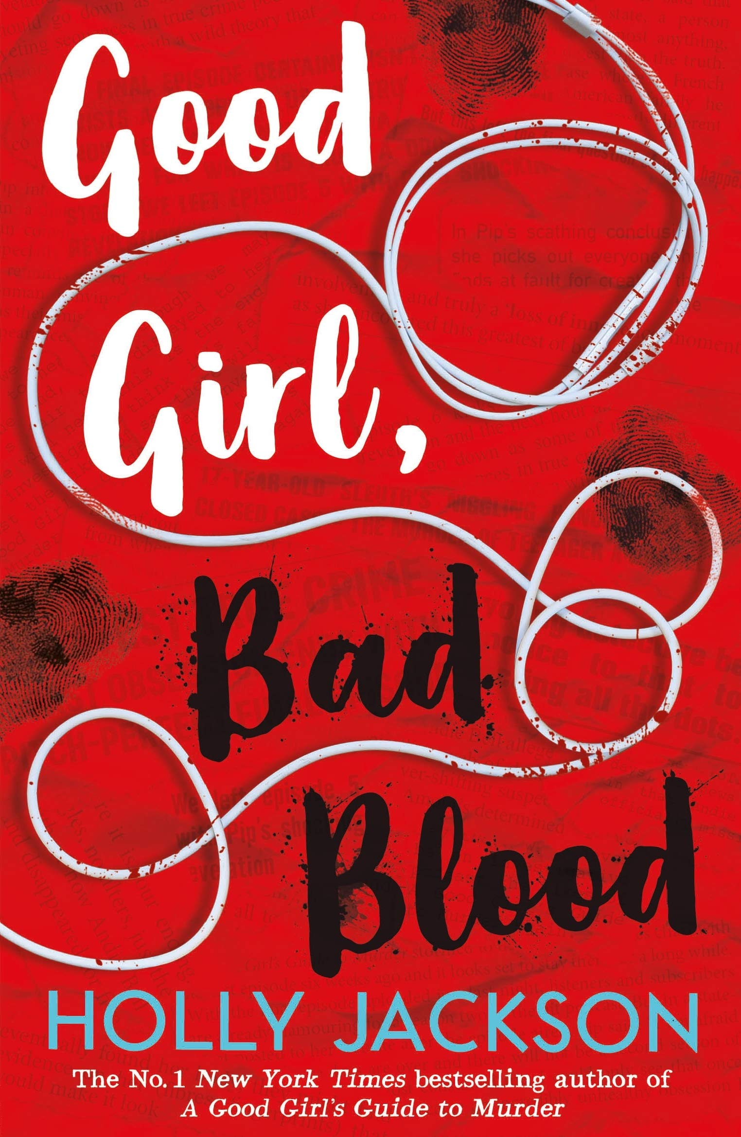 Good Girl, Bad Blood book cover image from a June and July Reading Recap.