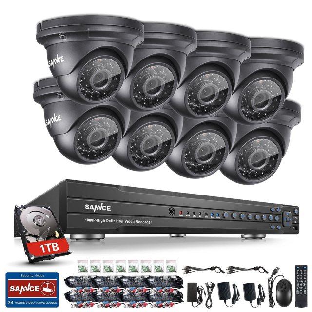 kit de vidéosurveillance Sannce