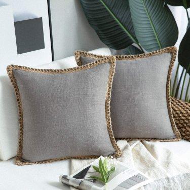Phantoscope Farmhouse Decorative Throw Pillow Covers