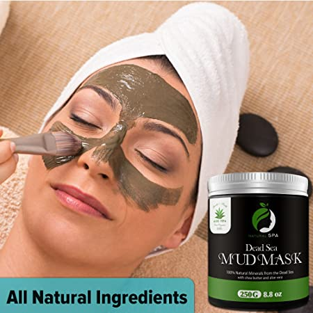 Amazon Com Dead Sea Mud Mask Natural Face Mask And Body Cleanser Best Facial Treatment Pore Reducer Minimizer Acne Blackheads Oily Skin With