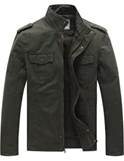 Casual Cotton Military Jacket