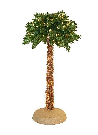 Pre Lit Palm Tree 5 Feet 150 Clear Lights