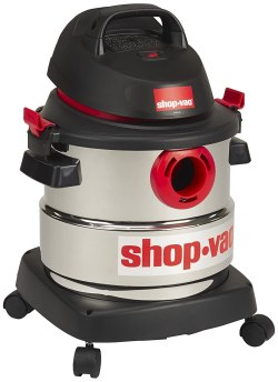 Shop-vac 4.5 HP Wet Dry Stainless Steel Vacuum Cleaner