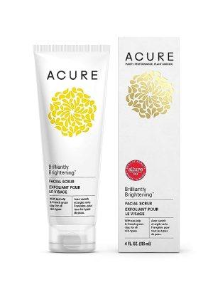 Acure Organics Brilliantly Brightening Facial Scrub 4 oz