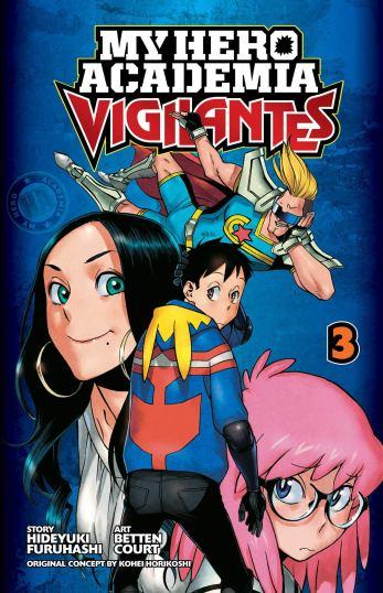 My Hero Academia: Vigilantes, Vol. 3: Volume 3 | Amazon.com.br