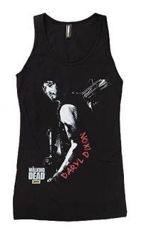 Juniors Tank Top: The Walking Dead - Daryl Dixon Juniors (Slim) T-Shirt Size L