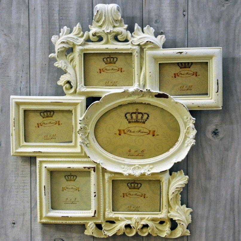 Cream Multi Photo Frames Uk | Frameswalls.org