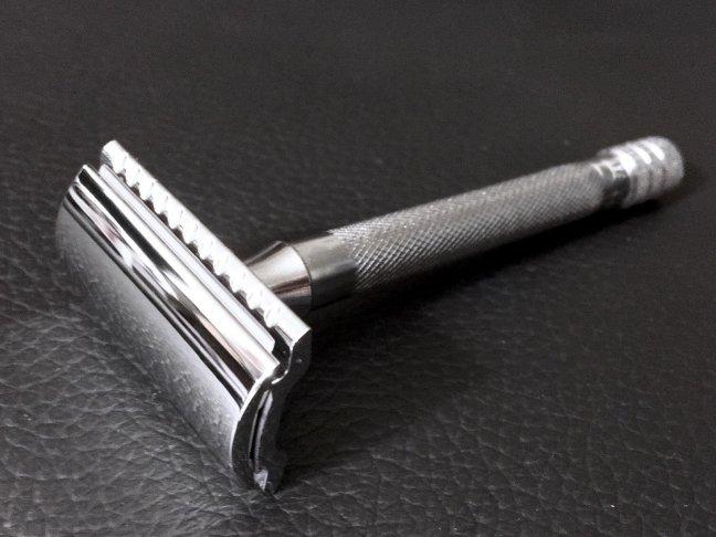 merkur long handled safety razor review