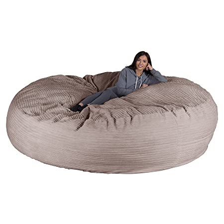 Lounge Pug Cord Cloudsac Giant Memory Foam L Bean Bag Sofa 597de53620d97