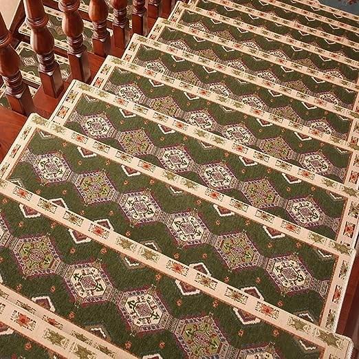 Amazon Com Ditan Washable Stair Treads Safty Non Slip Carpet | Outdoor Carpet For Steps | Front Entrance | Marine | Navy Pattern | Rubber | Diy