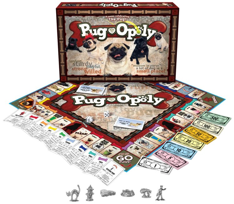 Pug Monopoly Game