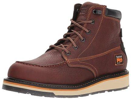 Timberland PRO Men's Gridworks Moc Soft Toe Waterproof Industrial Boot, Brown, 10 M US