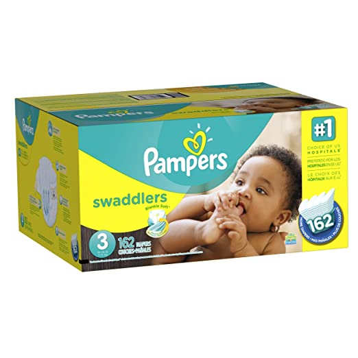 Pampers Swaddlers Diapers Size 3