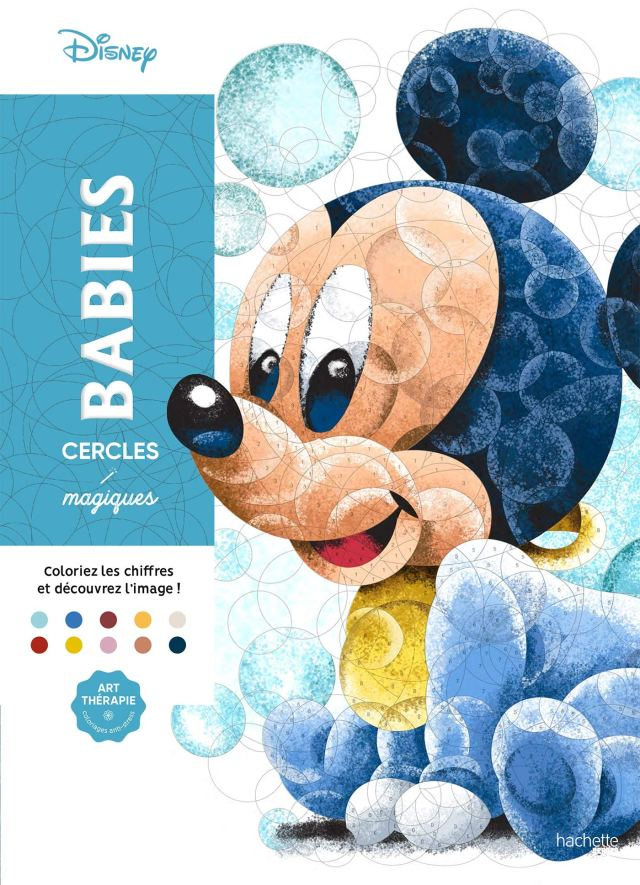 Cercles magiques Art-thérapie Disney Babies : Disney, Perez