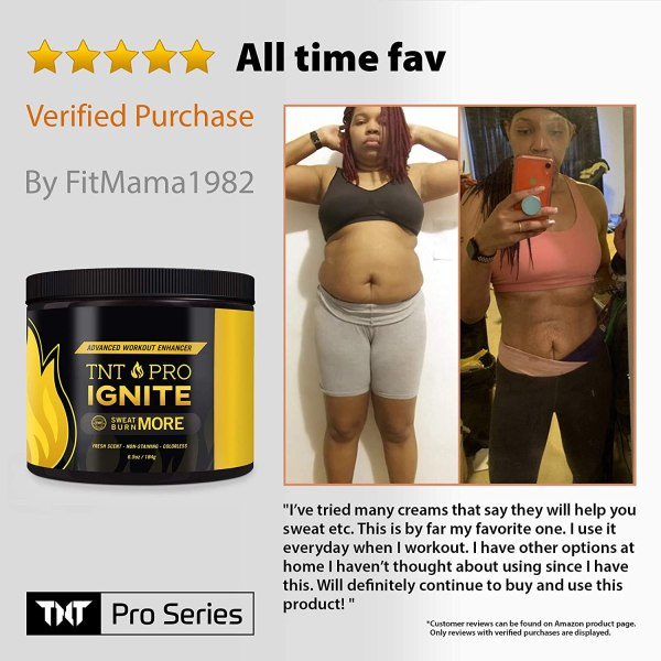 Fat Burning Cream for Belly – TNT Pro Ignite Sweat Cream for Men and Women