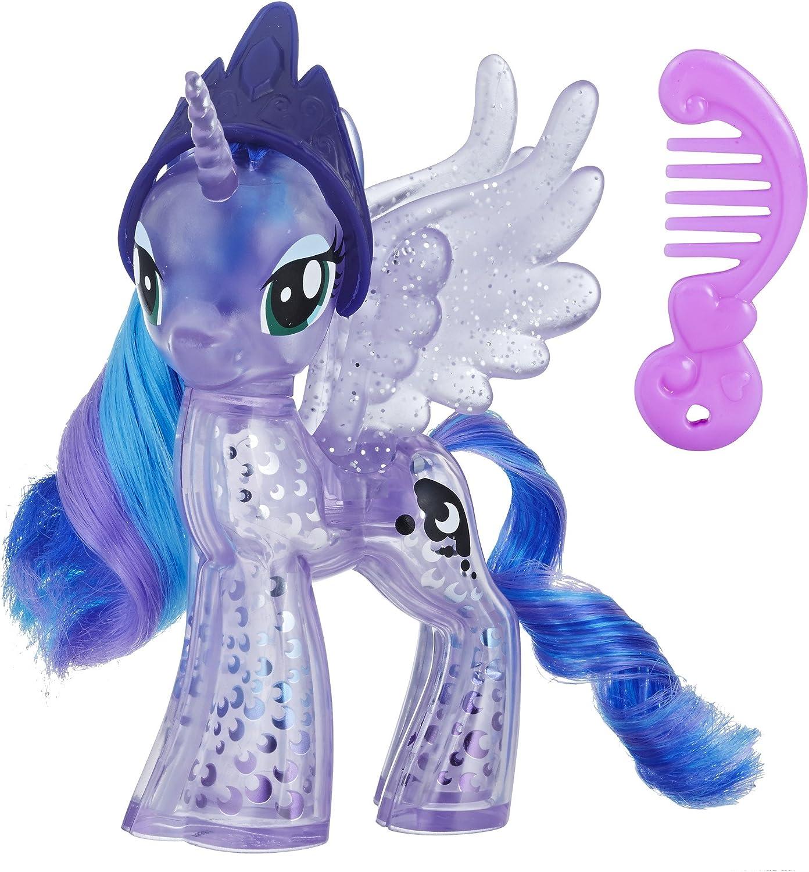 Amazon Com My Little Pony Princess Luna Glitter Celebration Toys Games