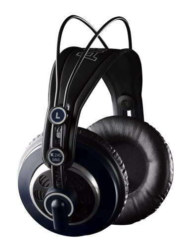 AKG headphones for film editing