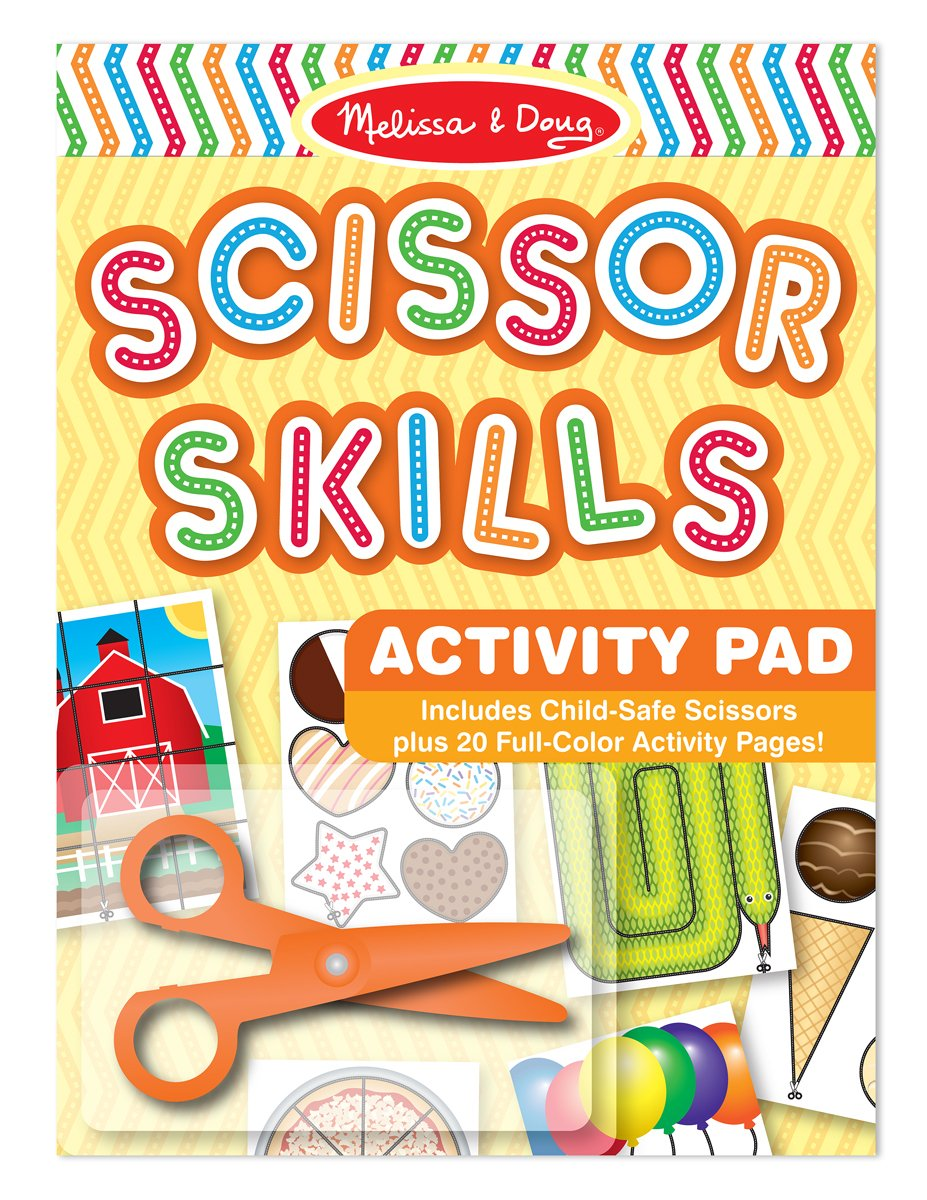 Melissa Doug Scissor Skills Activity Book