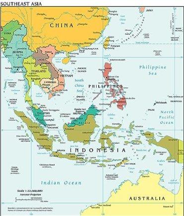 Αποτέλεσμα εικόνας για south asia map