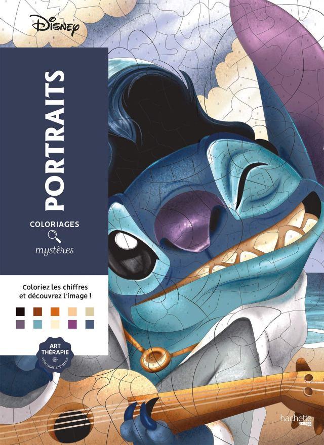 Coloriages Mystères Disney Portraits : Disney, Perez, Christophe