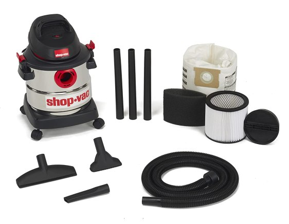 shop-vac 5-gallon 4.5 peak hp stainless steel wet dry vacuum review