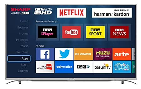 Sharp Lc 55cug8362ks 55 Inch Ultra Hd 4k Led Smart Tv With Freeview