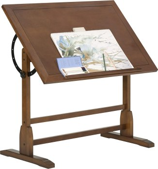 best angle for the drafting table